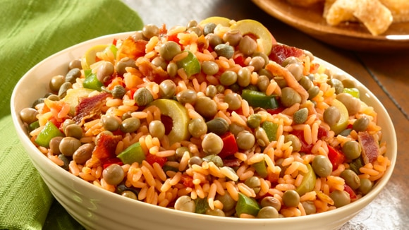 Rice with Peas (Arroz con Gandules)