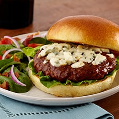 Ultimate Blue Cheese & Bacon Burgers