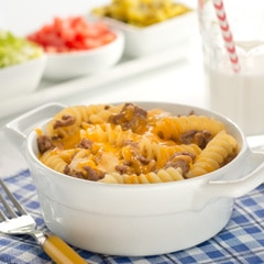 Mac and Cheeseburger Casserole