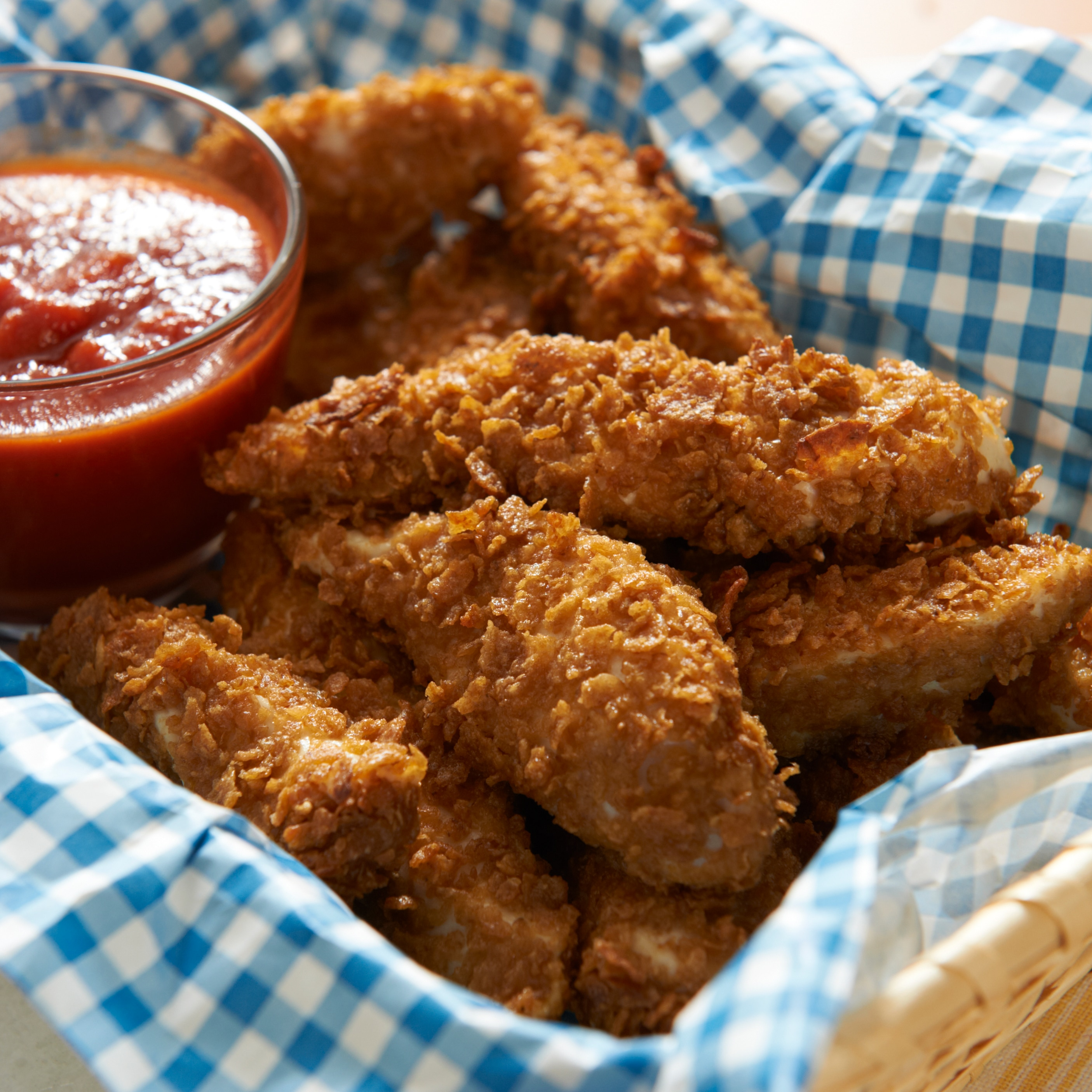 Baked Chicken Fingers