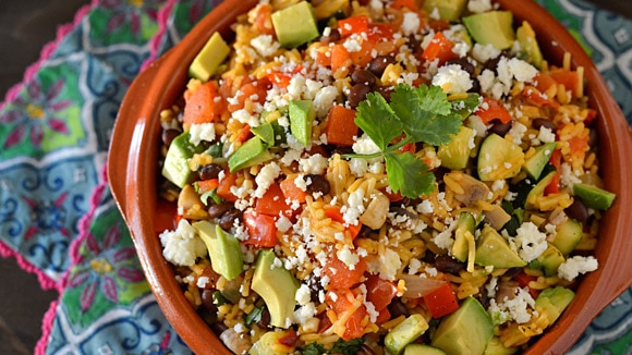 Southwest Mexican Rice Skillet