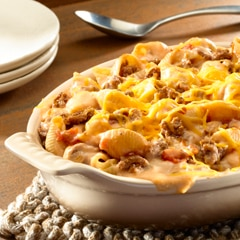 Beefy Cowboy Mac & Cheese
