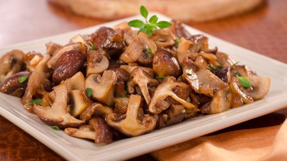 Mélange savoureux de champignons