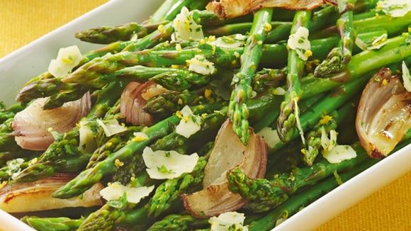 Roasted Asparagus with Parmesan Gremolata