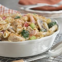Creamy Chicken & Veggie Casserole