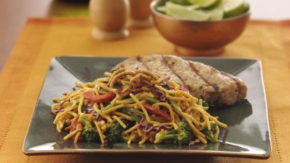 Crunchy Thai Noodle Salad