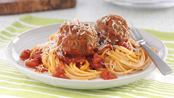 Weeknight Spaghetti & Meatballs