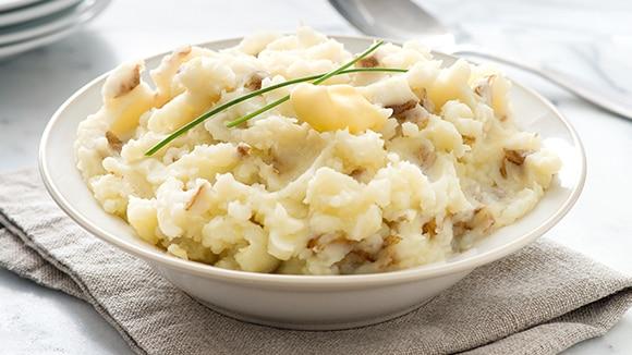 Purée de pommes de terre au babeurre et à la ciboulette