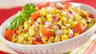 Grilled Summer Corn & Tomato Salad