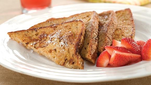 Whole Grain Cinnamon-Vanilla French Toast