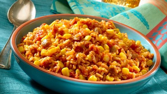 Légumes Aztèques et riz