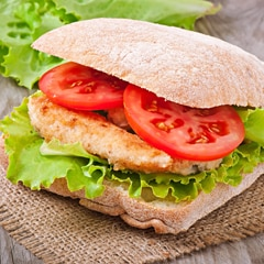 Parmesan Crusted Chicken Sandwiches