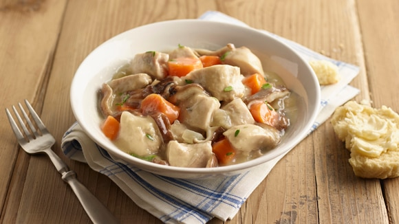 Home Recipes Slow Cooker Chicken Pot Pie Stew