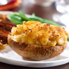 Simple Stuffed Potatoes