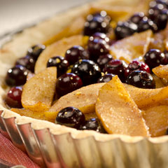 Pear Blueberry Tart