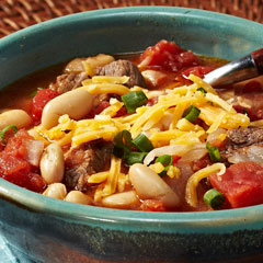 Slow-Cooked Chipotle Chili