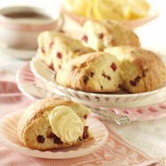 Rich Cranberry Scones