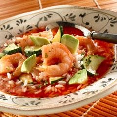 Smokey Shrimp in Tomato Sauce