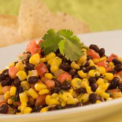Warm Corn & Bean Salsa