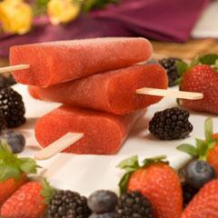 Bavarian Wild Berry Fruit-Tea Pops